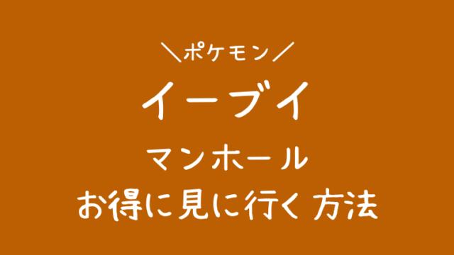 ibusuki-eevee-manhole